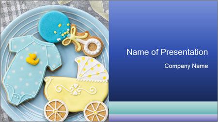 Baby Shower Powerpoint Template Backgrounds Google Slides Id
