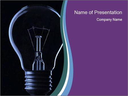 Light Bulb Powerpoint Template Backgrounds Google Slides Id