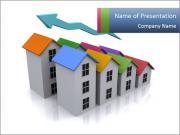 Real estate icon Modelos de apresentações PowerPoint