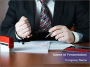 Notary public PowerPoint Template