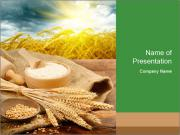 Organic ingredients PowerPoint Template