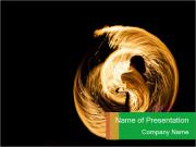 Amazing Fire Show PowerPoint Template