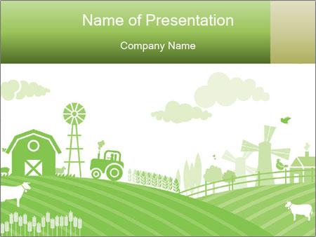 farm powerpoint template smiletemplates com