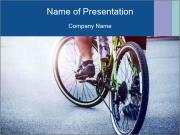 Cyclist PowerPoint Template