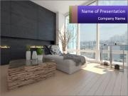 Living room PowerPoint Template