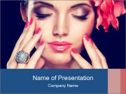 Fashion girl PowerPoint Template