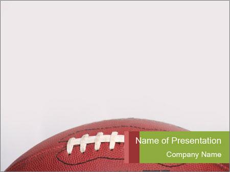 Football Border Powerpoint Template Backgrounds Google Slides