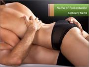 Couple having sex PowerPoint Template