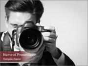 Professional camera PowerPoint Template