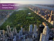Central Park PowerPoint Template
