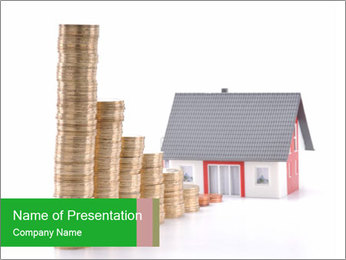 Mortgage payments PowerPoint Template
