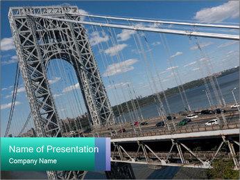 George Washington Bridge PowerPoint Template