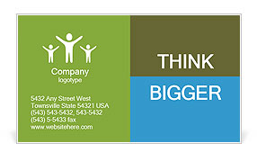 0000098060 Business Card Template