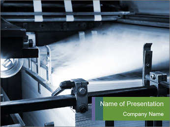 The equipment PowerPoint Template