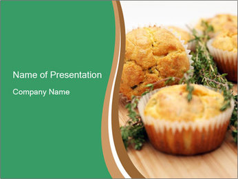Freshly baked PowerPoint Template