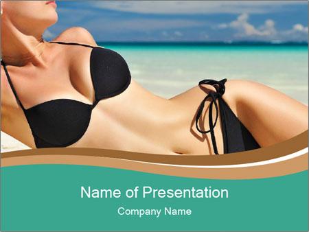 Beautiful body PowerPoint Template