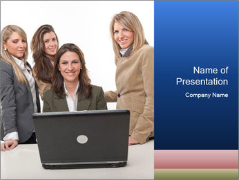 Happy faces PowerPoint Template