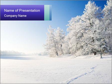 Snow Powerpoint Template Smiletemplates Com