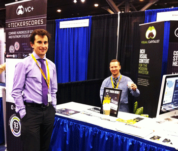 Members of the Visual Capitalist team at WRIC 2013