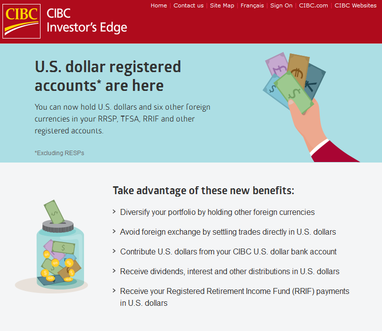 CIBC Investor's Edge introduces USD trading account