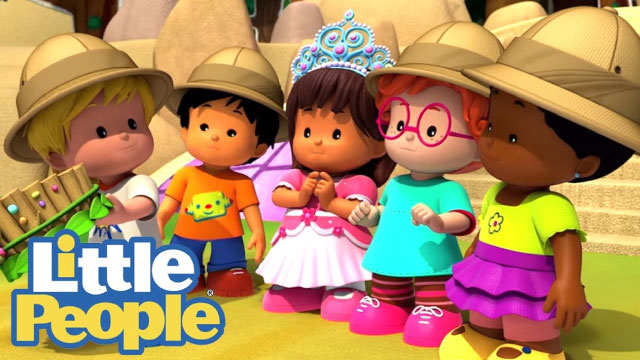 FISHER PRICE: LITTLE PEOPLE LEARNING MARKET