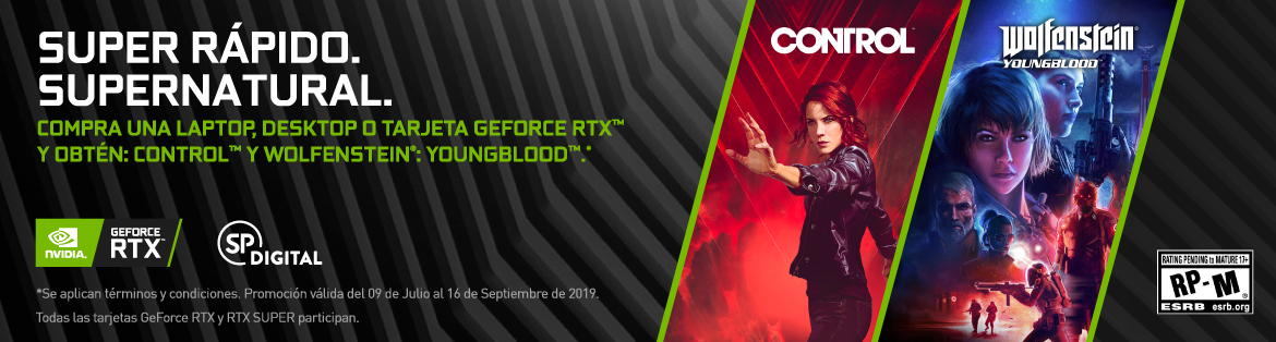 NVIDIA RTX YoungBlood Control
