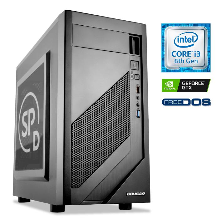 SPLABS-CM-I3-8100-GTX1650