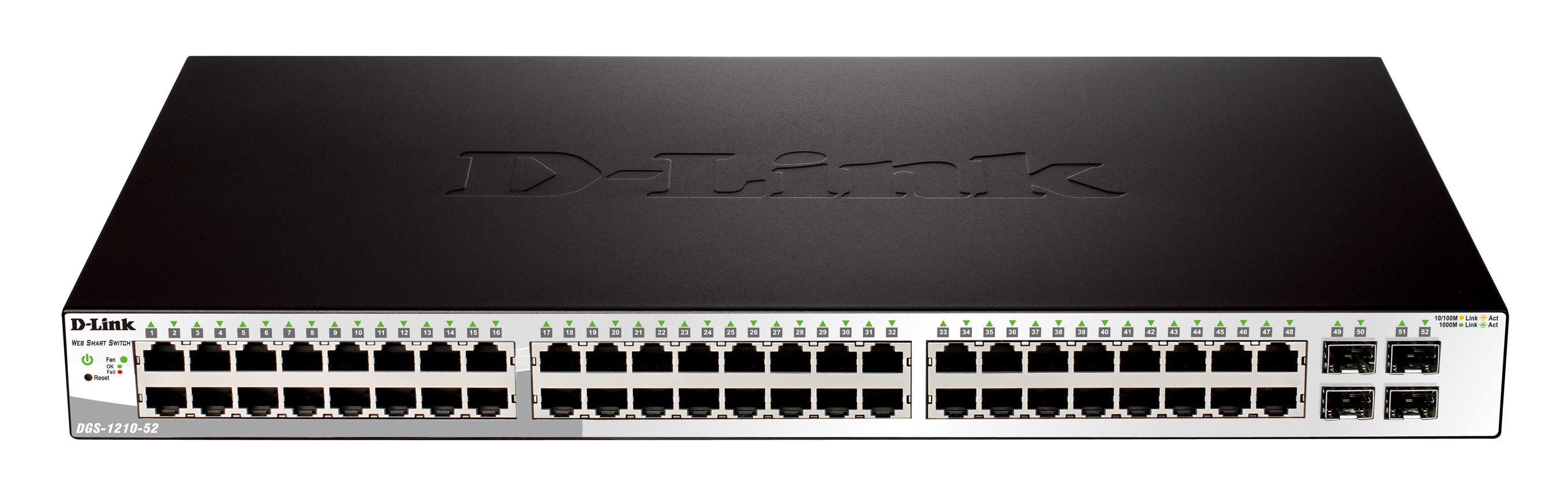 DGS-1210-52P