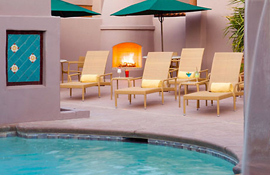 Lodge on the Desert outdoor pool