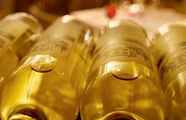 Toll House wine bottles
