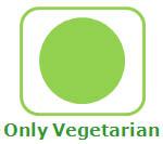 Vegetarian food only
