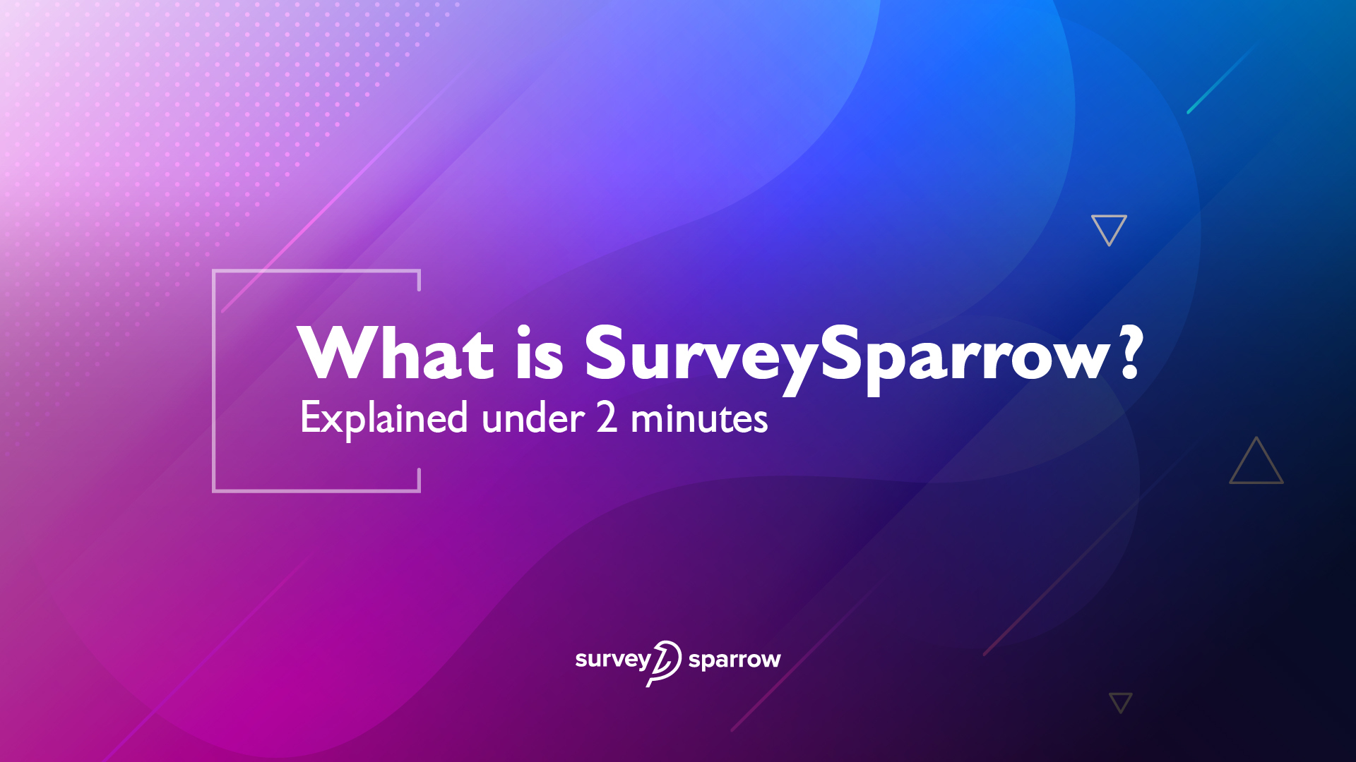 Create better experiences with SurveySparrow, an omnichannel experience management platform.