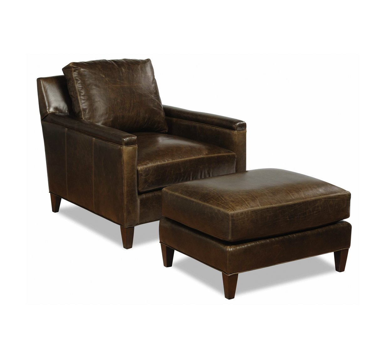 Malloy Chair and Ottoman