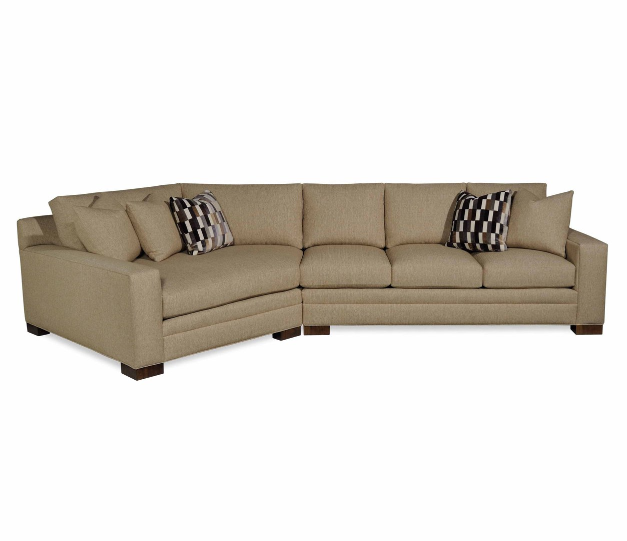 Taylor Made Plush Sectional Image