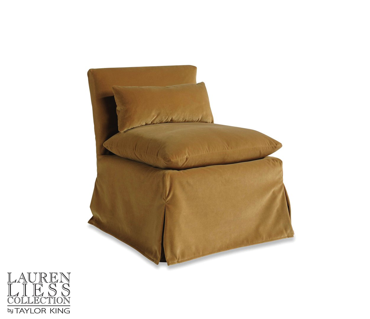 Friend Slipper Chair - Velvet