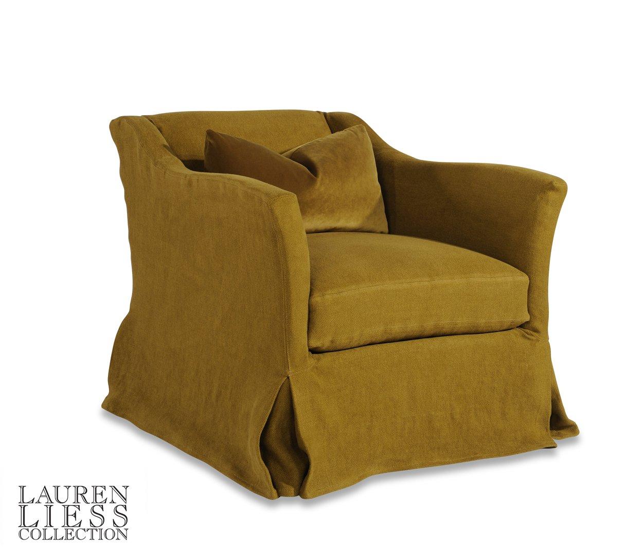 Evolution Slipcovered chair