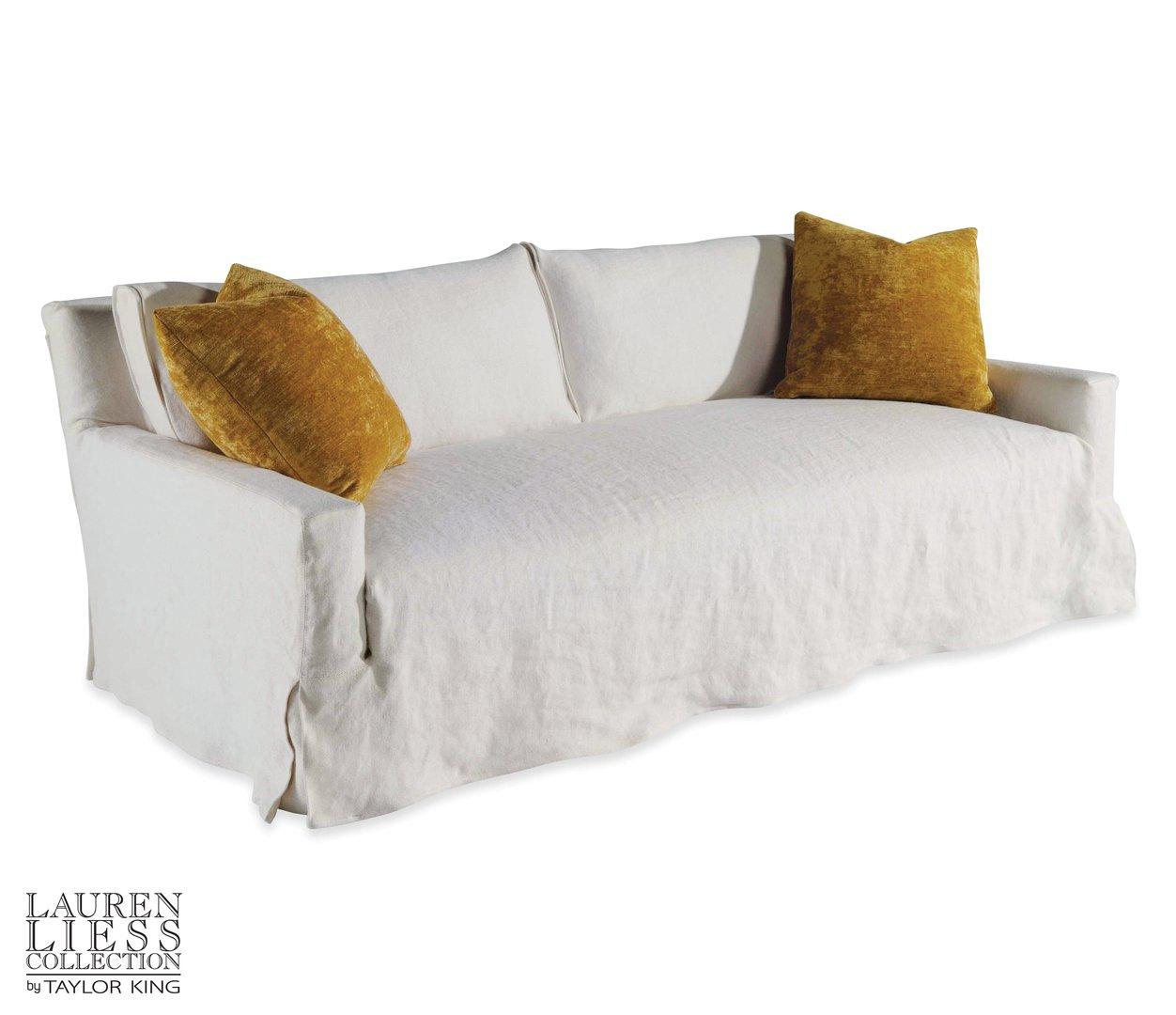 Courtier Slipcovered Mini Sofa Image