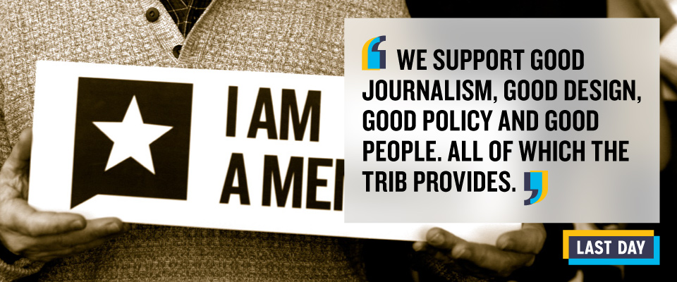 We support good journalism...