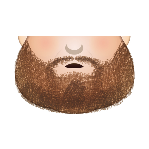 Stickland's beard