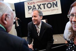 Senator Ken Paxton speaks to supporters in Plano on Thursday, August 1, 2013, to announcement his campaign for Attorney General.