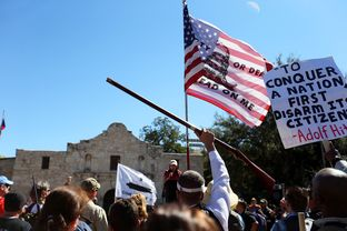 More than a thousand turned out at the Alamo on Saturday, Oct.19 for a protest over local, state and federal gun restrictions.