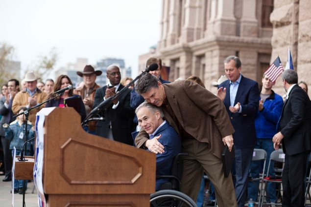 Thousands attended the Texas Rally for Life at the Capitol on Jan. 26, 2013. Speakers included Gov. Rick Perry, Lt. Gov. David Dewhurst and state Sen. Dan Patrick, R-Houston.