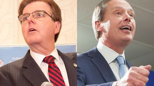 State Sen. Dan Patrick is headed to a GOP primary runoff with incumbent Lt. Gov. David Dewhurst.