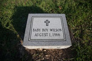 Nearly 48 years after Charles Whitman's notorious shooting rampage on the University of Texas at Austin campus, his youngest victim — a baby still in utero — finally received a headstone this year, Jul 7, 2014.