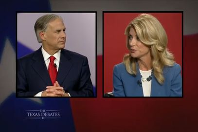 Gubernatorial Poll: Abbott Leads Davis by 9 Points, by Christine Ayala