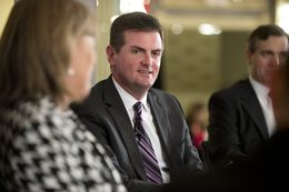 State Sen. Brandon Creighton, R-Conroe, who replaced Sen. Tommy Williams at TTEvents Dec. 11, 2014