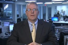 Texas Tribune Executive Editor Ross Ramsey on WFAA-TV's Inside Texas Politics on Jan. 4, 2015.