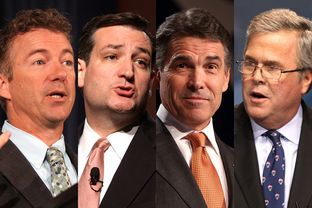 GOP Hopefuls Eyeing the Texas Hispanic Vote