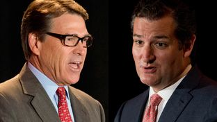 Former Gov. Rick Perry and U.S. Sen. Ted Cruz
