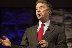"U.S. Sen. Rand Paul delivers the keynote speech at the Dallas GOP ""Reagan Day"" event on Friday, January 30, 2015."